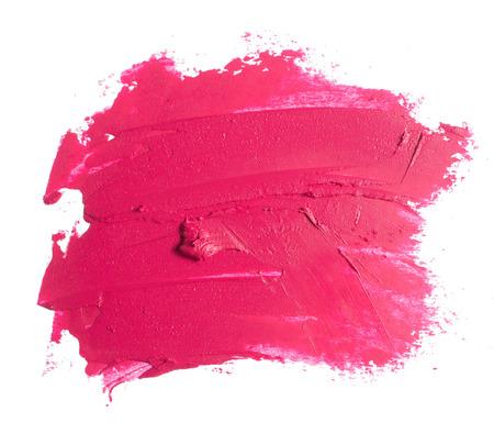 Photo pour pink lipstick texture - image libre de droit
