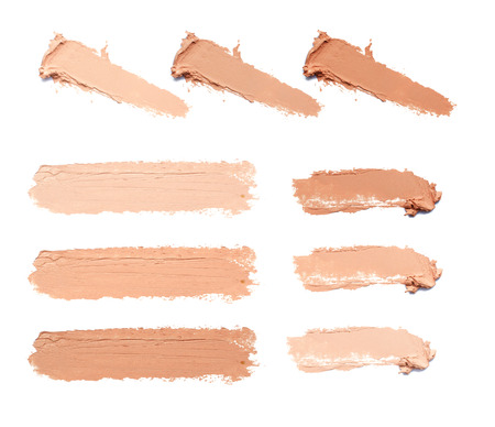 Photo pour smear makeup tone - image libre de droit