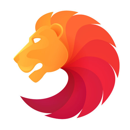 Illustration pour Animal design template elements for your application or company or sport team branding - image libre de droit