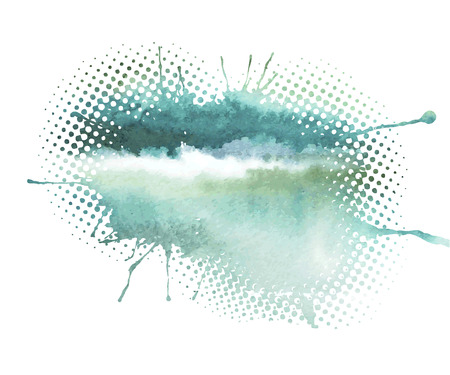 Photo for Watercolor abstract background - Royalty Free Image