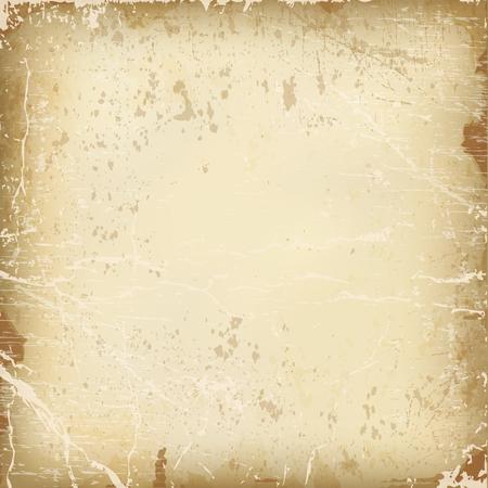 Ilustración de vector texture of the old paper. - Imagen libre de derechos