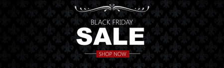 Photo pour Black friday sale deals web banner - image libre de droit