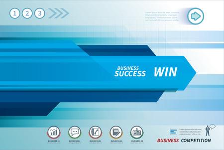 Ilustración de line speed business background - Imagen libre de derechos