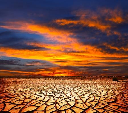 Photo pour drought land - image libre de droit