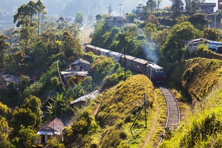 railroad on Sri Lanka