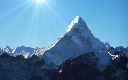 AmaDablan Mountains in Sagarmatha region,Himalaya