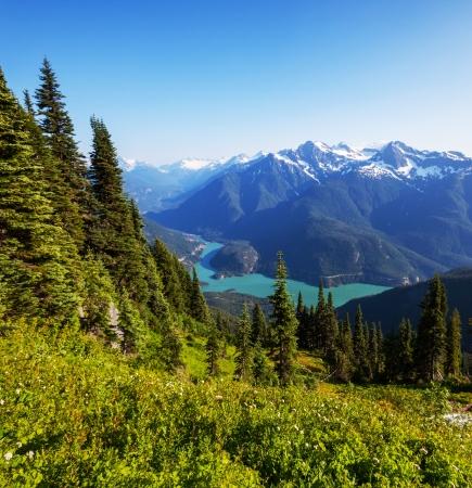 Photo for Diablo Lake,Washington - Royalty Free Image