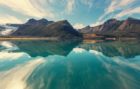 Photo pour Svartisen Glacier in Norway - image libre de droit