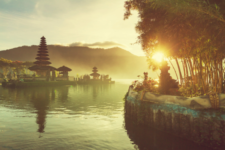 Photo for Pura Ulun Danu temple, Bali, Indonesia - Royalty Free Image