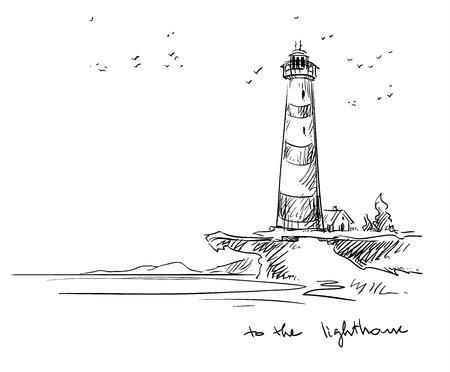 Illustration pour lighthouse. - image libre de droit