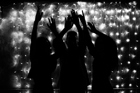 Photo for Young people are dancing. Nightlife and disco concept. Party. - Royalty Free Image