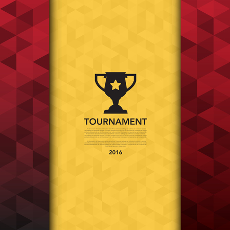 Soccer ( football ) tournament background