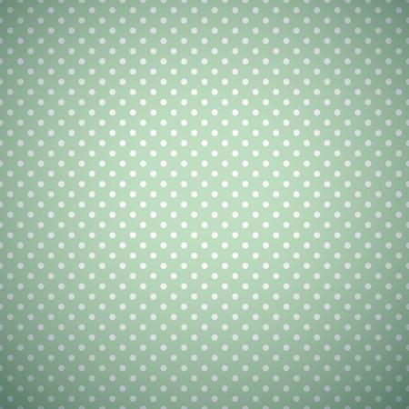 Ilustración de Retro mint and emerald vector seamless pattern. - Imagen libre de derechos