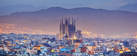 Foto de Barcelona in Spain - Imagen libre de derechos