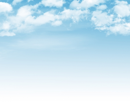 Photo pour Blue sky with clouds background - image libre de droit