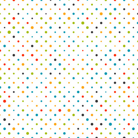Ilustración de Colorful dot background pattern illustration - Imagen libre de derechos