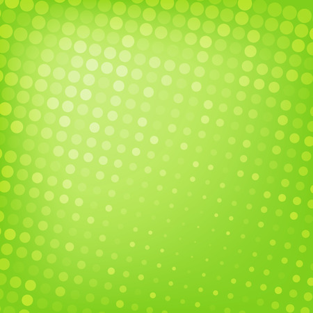 Illustration pour Abstract dotted green background texture - image libre de droit
