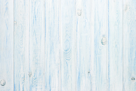 Photo for White and blue wooden plank texture  - Royalty Free Image