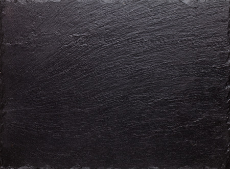 Photo pour Black slate stone texture background - image libre de droit