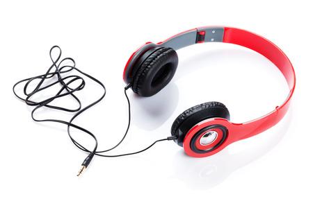 Photo for Headphones. Isolated on white background - Royalty Free Image