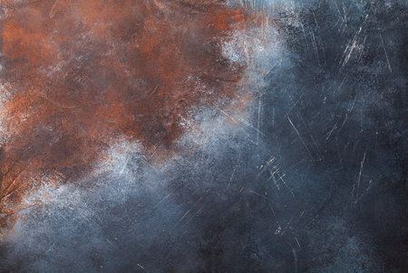 Photo for Old rusted metal texture background - Royalty Free Image