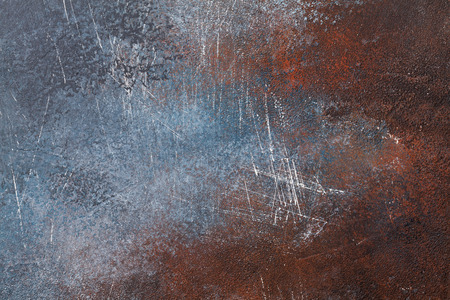 Foto de Old rusted metal texture background - Imagen libre de derechos