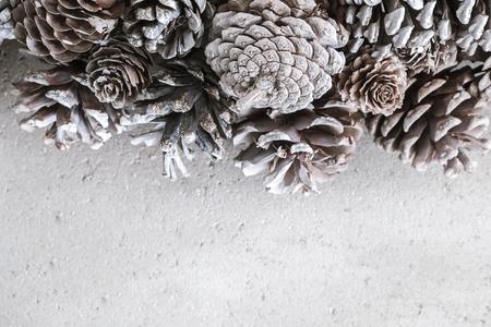 Photo pour Pinecone background - image libre de droit