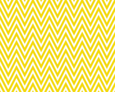Foto de Thin Bright Yellow and White Horizontal Chevron Striped Textured Fabric Background that is seamless and repeats - Imagen libre de derechos