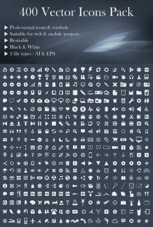 This is a simple, elegant and professional pack of icons