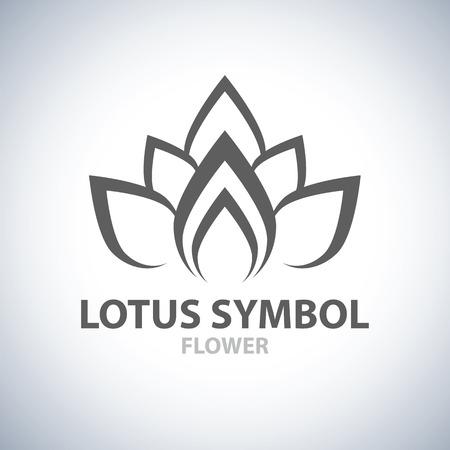 Photo for Lotus Symbol icon design. Vector illustration - Royalty Free Image