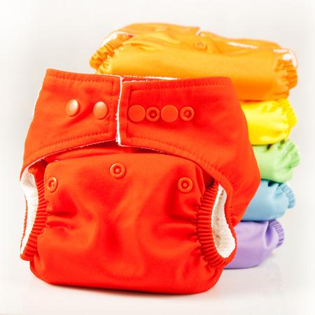 Photo pour Eco friendly diapers - image libre de droit