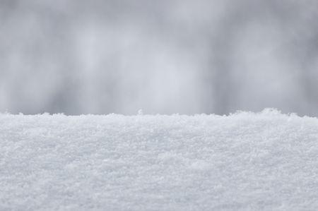 Snow Texture Backround, Detailed Closeup