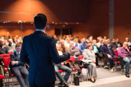 Photo for Speaker at Business Conference and Presentation  Audience at the conference hall  - Royalty Free Image