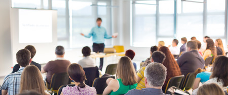 Photo for Speaker at business workshop and presentation,  Audience at the conference room  - Royalty Free Image