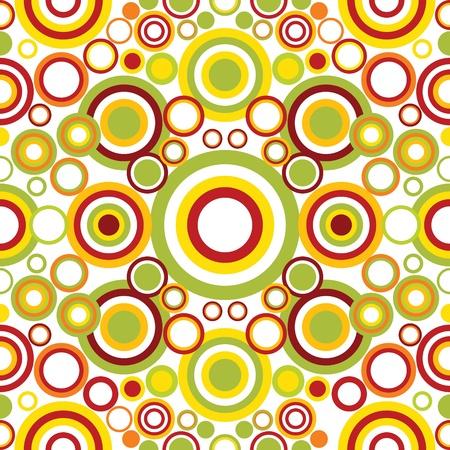 Photo pour Bright geometrical ornament with circles - image libre de droit