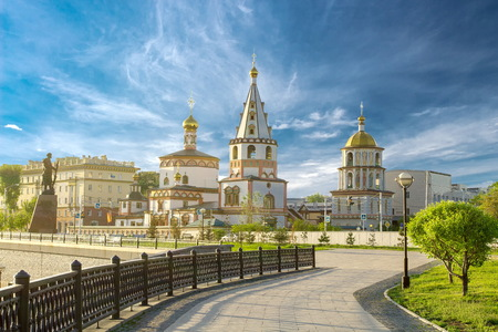 Photo pour Church in the city of Irkutsk - image libre de droit