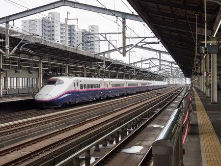 Foto de Bullet train in Japan - Imagen libre de derechos