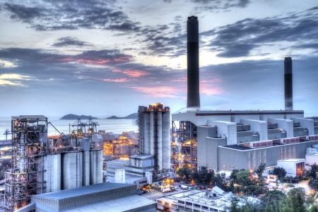 Photo pour Power station  - image libre de droit