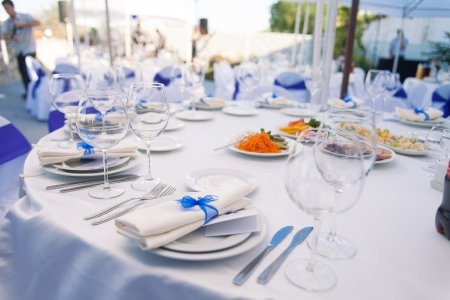 Photo for Wedding banquet table - Royalty Free Image