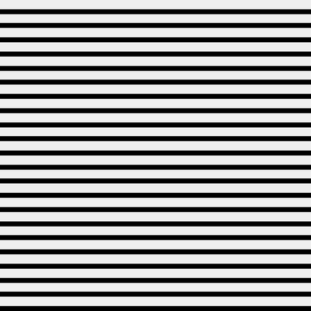 Illustration pour Seamless simple monochrome minimalistic pattern. Straight horizontal lines - image libre de droit