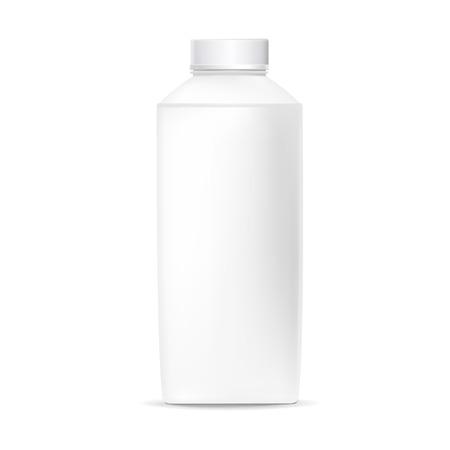 Illustration pour blank plastic bottle isolated on white background - image libre de droit