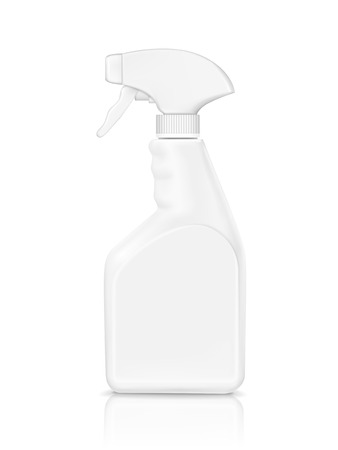 Illustration pour blank bottle spray detergent isolated on white background - image libre de droit