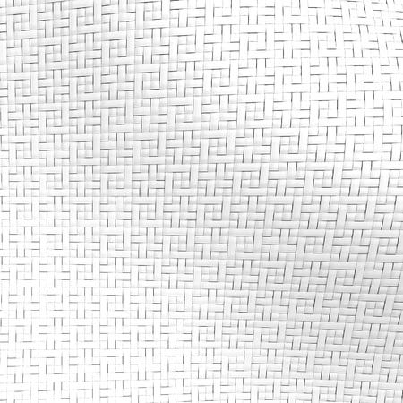 Photo pour 3D render fiber, fabric textile structure for design uses, wavy background - image libre de droit