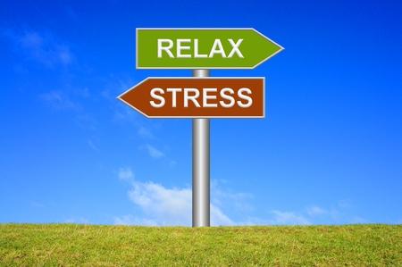 Foto de Stress / Relax - Imagen libre de derechos