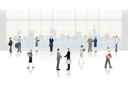 Foto für The people who work in an office  - Lizenzfreies Bild