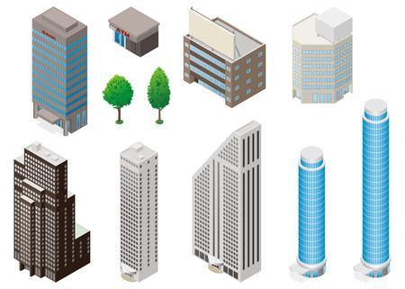 Illustration pour Building - image libre de droit