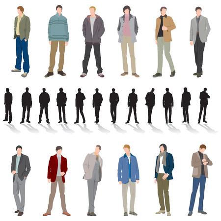 Illustration pour Male Fashion - image libre de droit