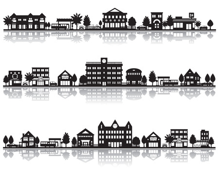 Illustration for Various city - Royalty Free Image