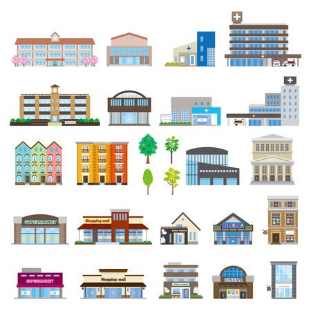 Foto de Various building - Imagen libre de derechos