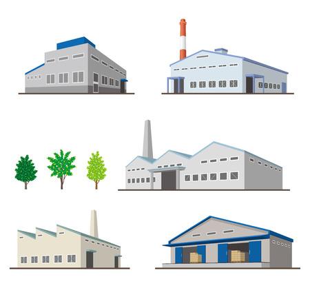 Ilustración de Building/Solid figure - Imagen libre de derechos